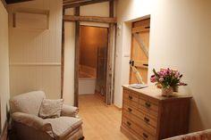 Downstairs bedroom  with en suite
