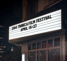 Tribeca Film Festival Announces 2014 Dates; AT is New Presenting Sponsor