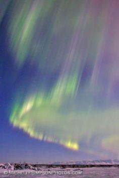 """Dancing Curtain"" - Homer, Alaska"