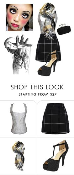 """Creepy Sexy Schoolgirl Marionette"" by chicastic on Polyvore"