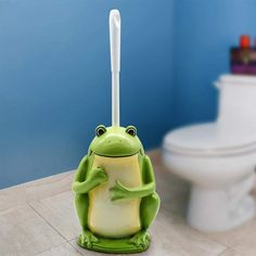 frog cup dispenser - Google Search Frog Bathroom, Google Search