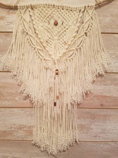 Macrame Wall Hanging by WoodsEndStudio on Etsy