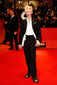 Berlin Film Festival: Tilda Swinton In Schiaparelli Haute Couture