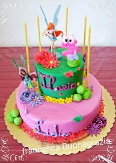 Winx cake.
