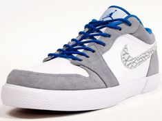 Air Jordan Retro - Grey/White/Blue