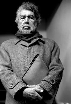 Alain Robbe-Grillet (1922-2008) - French writer and film maker. Photo © Despatin & Gobeli, 1994