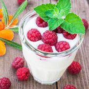 Gesundes Himbeer-Dessert mit Dickmilch | amapur Diät Blog - Die besten Abnehmtipps und Diät Rezepte