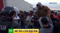 Венгрия отправила присланных Хорватией беженцев в Австрию. Ситуация с беженцами обострила противоречия внутри Евросоюза и едва не поссорила Венгрию с Хорватией. Австрия,Ближний Восток,Венгрия,Европейский союз,беженцы,войны и вооруженные конфликты. НТВ.Ru: новости, видео, программы телеканала НТВ