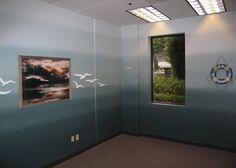 Ombre Paint (fine finish sprayed) - Bloomreach Corporate Headquarters
