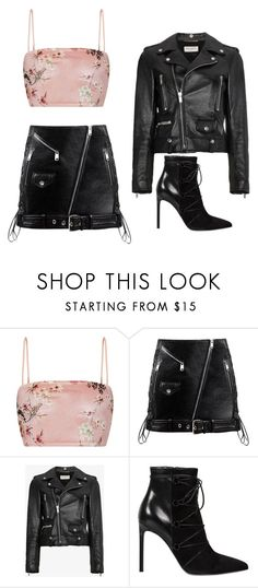 """Untitled #894"" by psoto-1 ❤ liked on Polyvore featuring Yves Saint Laurent"