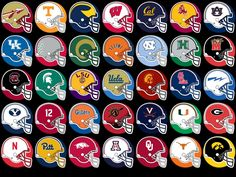 Coloring Pages Of College Football Teams College Football Logos, Nfl Football Helmets, Football Is Life, Football Uniforms, Football Memes, Alabama Football, College Basketball, American Football, College Sport