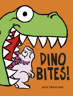 """Munch, crunch! """"This is the dinosaur looking for lunch!"""" It's a dinosaur-eat-dinosaur (and other treats) world out there. But when Bite! Snap! Crunch! leads to a buzz, the buzz leads to a hop, and the hop leads to a wriggle, mealtime has surprising and hilarious results."""