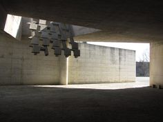 Igualada Cemetery by Enric Mirrales and Carme Pinos.