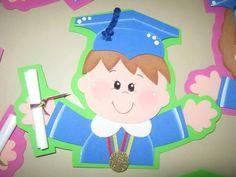 OTRAS IMÁGENES IV :: RT Decoraciones y algo más... Graduation Diy, Graduation Decorations, Graduation Pictures, Foam Sheet Crafts, Diy And Crafts, Crafts For Kids, Foam Sheets, Classroom Activities, Princess Peach