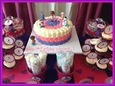 Cake at a Doc McStuffins Party #docmcstuffins #party