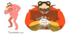 The Sonic, Sonic Boom, Sonic The Hedgehog, Doctor Eggman, Sonic Franchise, Pin Art, Disney Art, Art Blog, Chucky