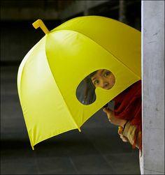 傘本来の機能以外のデザインを重視したクリエイティブな気分の傘いろいろ - GIGAZINE
