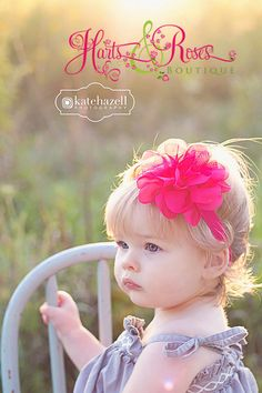 15% off UR order.Hot Pink Baby Headband.Newborn Headband.Hot Pink Headband.Baby Girl Valentines Headband.Hairbow .Baby Bow Headbands on Etsy, $8.95
