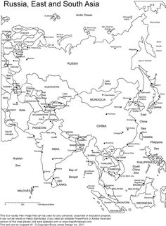 Brazil Map Coloring Page Beautiful asia Map Coloring Sheets Awesome Printable Outline Maps World Geography Map, Geography For Kids, Teaching Geography, Geography Lessons, World Map Coloring Page, Coloring Pages, Colouring, Coloring Sheets, Map Worksheets