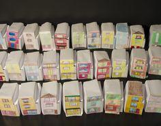 Paper models created by residents in community workshop. - Quinta Monroy - Elemental
