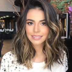 Long Wavy Ash-Brown Balayage - 20 Light Brown Hair Color Ideas for Your New Look - The Trending Hairstyle Brown Hair Balayage, Brown Ombre Hair, Brown Blonde Hair, Ombre Hair Color, Brown Hair Colors, Balayage Highlights, Blonde Balayage, Ombre On Short Hair, Dark Hair