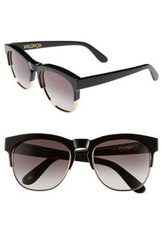 Wildfox 'Club Fox' 54mm Sunglasses available at #Nordstrom