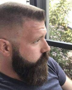 Top 30 flat top hairstyle for Men - Reny styles Beard Cuts, Gay Beard, Beard No Mustache, Top Hairstyles For Men, Haircuts For Men, Military Haircuts, Summer Haircuts, Men's Haircuts, Soldier Haircut