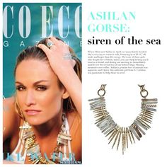 @CocoEcoMag featuring @AshlanGorse in a JaredJamin.com #necklace! Available at #HarariBeverlyHills!