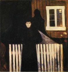Moonlight (1893) by Edvard Munch.