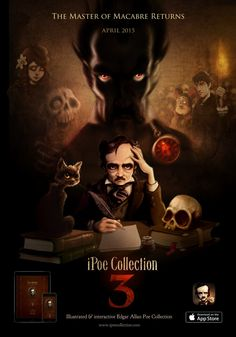 iPoe collection vol.3. Available on the app store: https://itunes.apple.com/us/app/ipoe-3-cask-amontillado-alone/id974147505