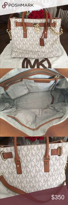 Michael Kors Bag It's in great condition no tear no smell..with wallet Michael Kors Bags Satchels