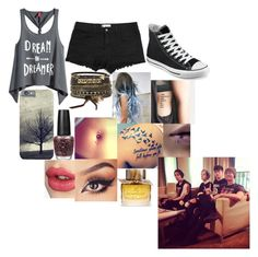 """""""Hanging With the Boys"""" by chloe-775 ❤ liked on Polyvore featuring H&M, Converse, BKE, Wildfox, OPI, Bellybutton, Burberry and Charlotte Tilbury"""