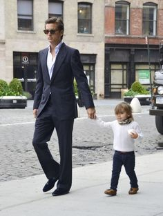 The dapper don Disick Sr & dapper don Jr. You can be a Dad/Daddy/Father & still be classy, & your kid can be classy as well.