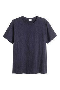 H&M T-shirt in slub jersey Modern Essentials selected by David Beckham