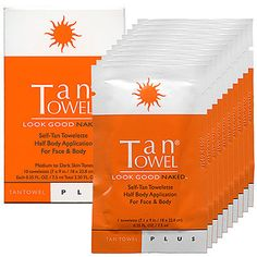 The perfect sunless tan!