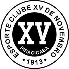 Esporte Clube XV de Piracicaba-SP logo - Esporte Clube XV de Novembro (Piracicaba) – Wikipédia, a enciclopédia livre