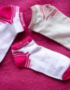 Nowe 3 pary skarpetki stópki do adidasów sportowe   Cena: 3,00 zł  #adidas #skarpetki #nike #puma #reebok #fredperry #stopki