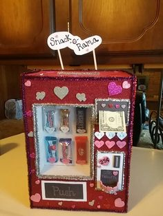 Valentine vending machine
