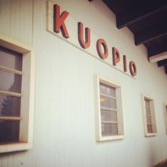 Welcome to #Kuopio