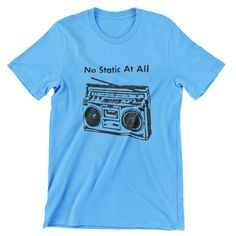 Steely Dan FM No Static at All T Shirt Hand screen-printed Men's / Ladies / Fitted Donald Fagan / Jazz / Guitar / Blues by cottonpickincrazy on Etsy Steely Dan Fm, Young T, Jazz Guitar, Quality T Shirts, Classic T Shirts, Long Sleeve Tees, Blues, Trending Outfits, Mens Tops