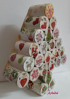 Discover recipes, home ideas, style inspiration and other ideas to try. Easy Christmas Crafts, Christmas Projects, Christmas Gifts, Christmas Decorations, Christmas Ornaments, Advent Calenders, Diy Advent Calendar, Christmas Calendar, Christmas Makes