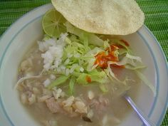 Pozole / my mom recipe!! / Pozole blanco