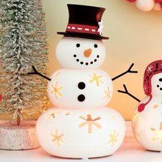 Mr. Snow Tealight Holder  www.partylite.biz/funwithtammy