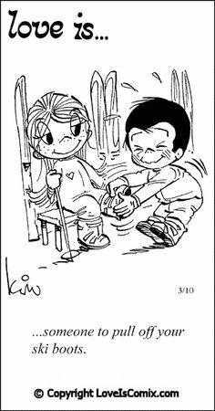 Love is... Comic for Mon, Feb 11, 2013