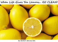 The many uses of lemons to clean your house