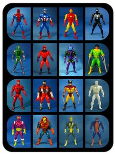 With Christmas just around the corner, in this week's Throwback Thursday column we're taking a look at some classic toy lines. Two of the most fondly-remembered toy lines of the 1980s were based on DC and Marvel Comics' rosters of super heroes.