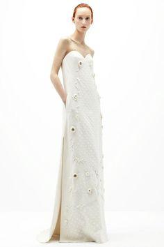 Vestidos de noiva   Coleção bridal Delpozo - Portal iCasei Casamentos