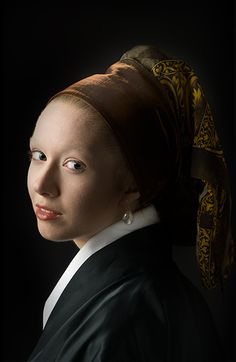 Klassiek Portret - Johannes Vermeer