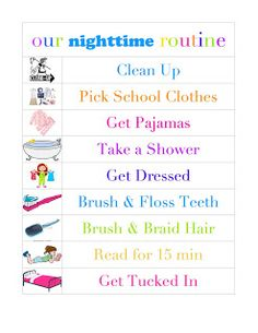 Kids Chore Charts On Pinterest