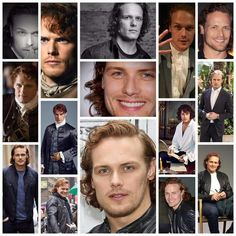 Outlander News, Sam And Cait, Jamie Fraser, Sam Heughan, Handsome, Actors, Celebrities, Fictional Characters, Books